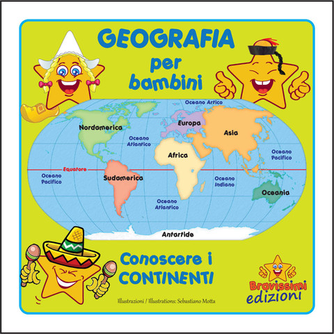 Assez Geografia per bambini / Geography for kids - Bravissimi OF15