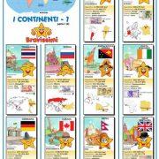 Poster i CONTINENTI 1 – Fto. A2