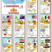 Poster i CONTINENTI 2 – Fto. A2