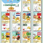 Poster i CONTINENTI 3 – Fto. A2