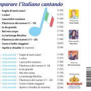 1Back Cover Impare L'Italiano Cantando – Bravissimi
