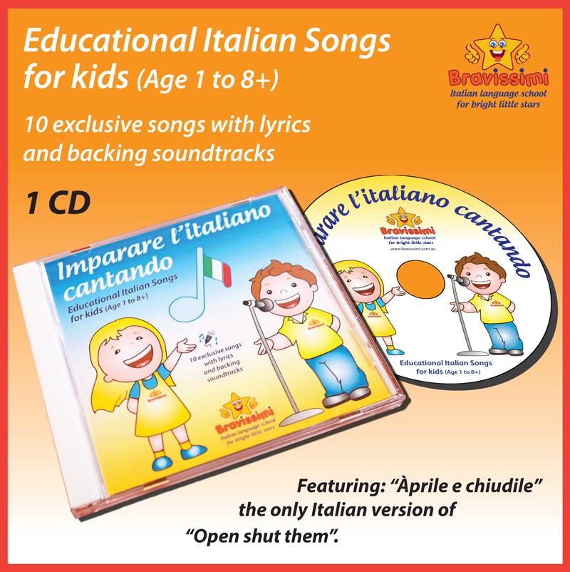 Bravissimi Album of Italian Songs for Kids [CD]
